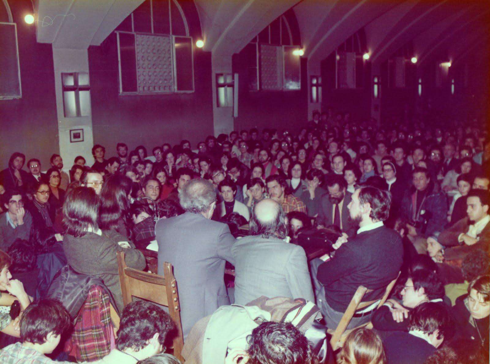 Conférence à Madrid-1977