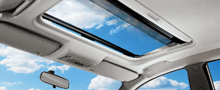 sun roof new pajero sport