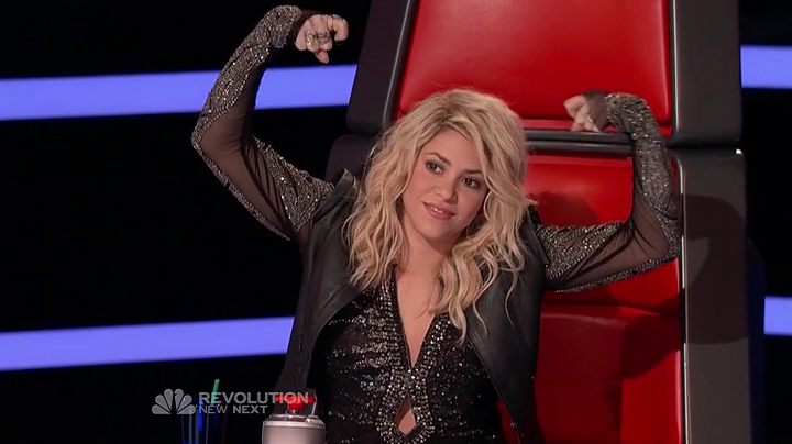 Vote em Shakira como melhor treinadora do &amp;quot;The Voice&amp;quot;