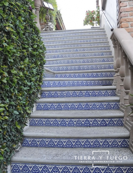 Talavera Tiles For Stair Risers