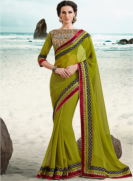 Saree, Festive, Weddings, Style, Ethnic, Tanvii.com