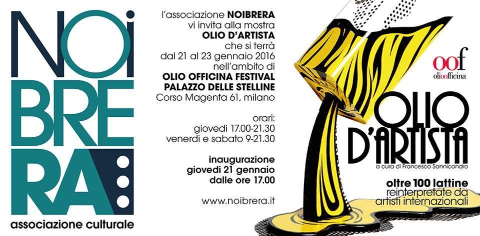 OLIO Du0027ARTISTA A Cura Di Francesco Sannicandro , Mostra Al Palazzo Delle  Stelline Di Milano