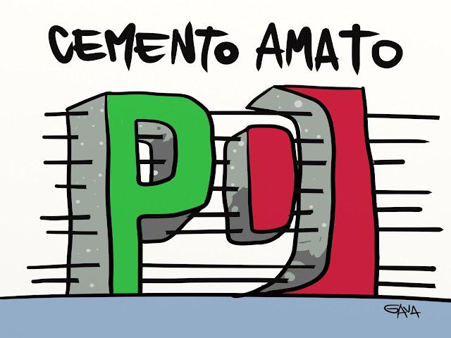 AMATO pd presidente della repubblica rodotà gabanelli gava gavavenezia bersani grillo satira ridere rosso verde p d battute