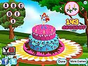 Game làm bánh kem Winx, chơi game winx online