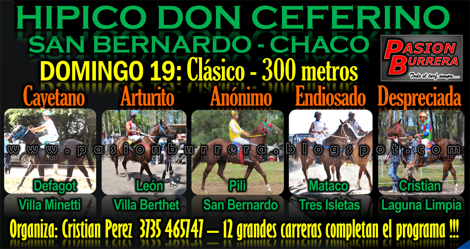 SAN BERNARDO 19 - 300 METROS
