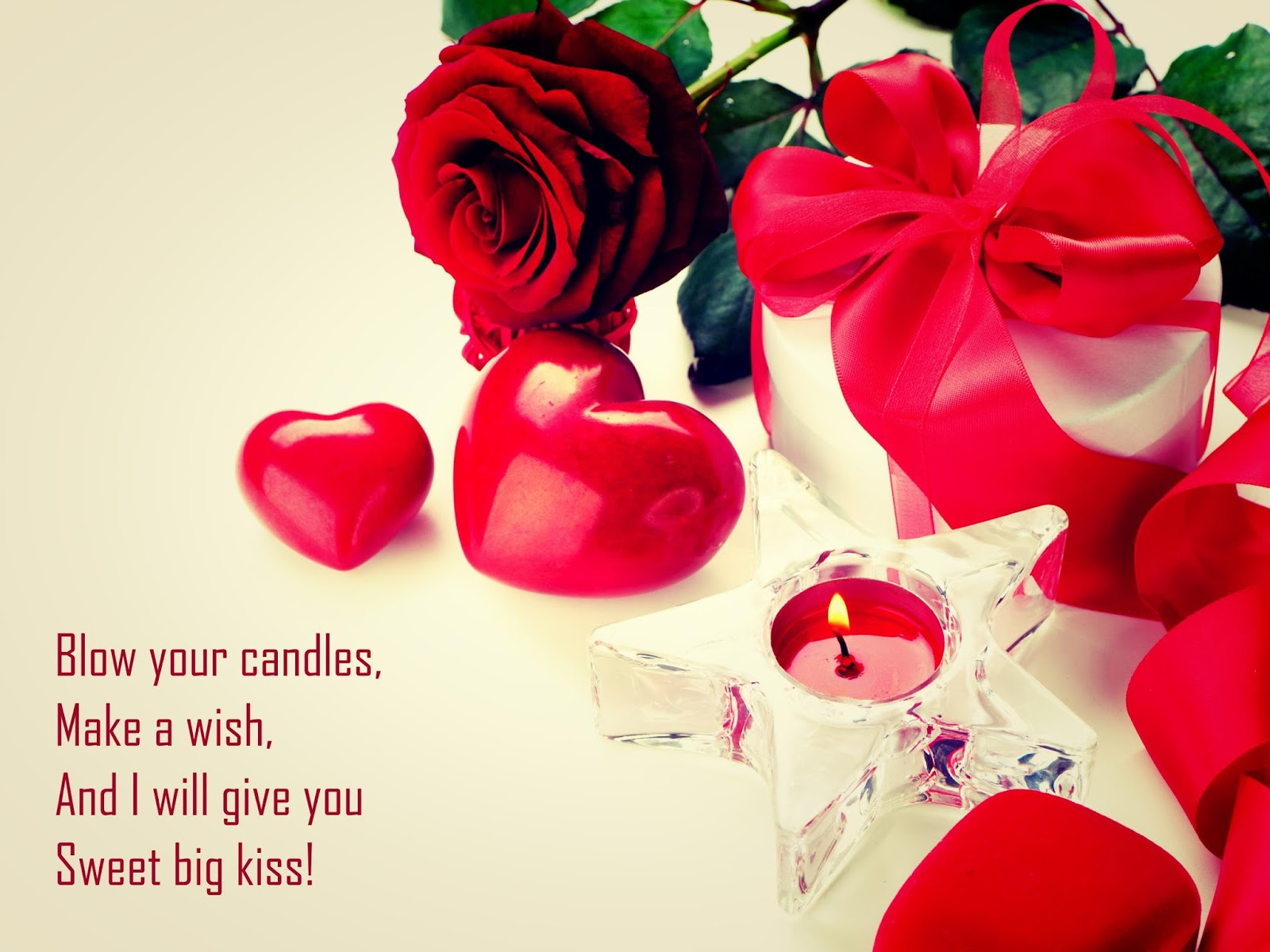 Birthday Wishes Romantic Him ~ Romantic birthday gifts hd wallpapers for girlfriend