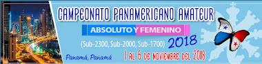 Campeonato Panamericano Amateur Absoluto y Femenino 2018 (Dar clic a la imagen)