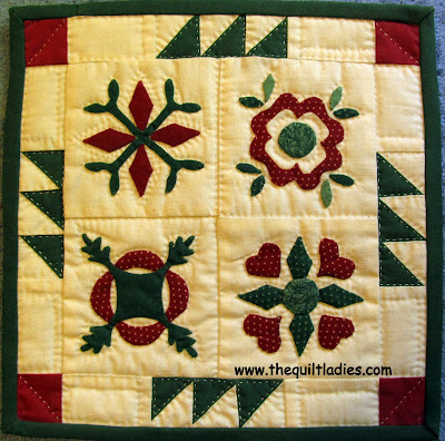 Cheaters Cloth, Fall Back with a Little Quilt by The Quilt Ladies