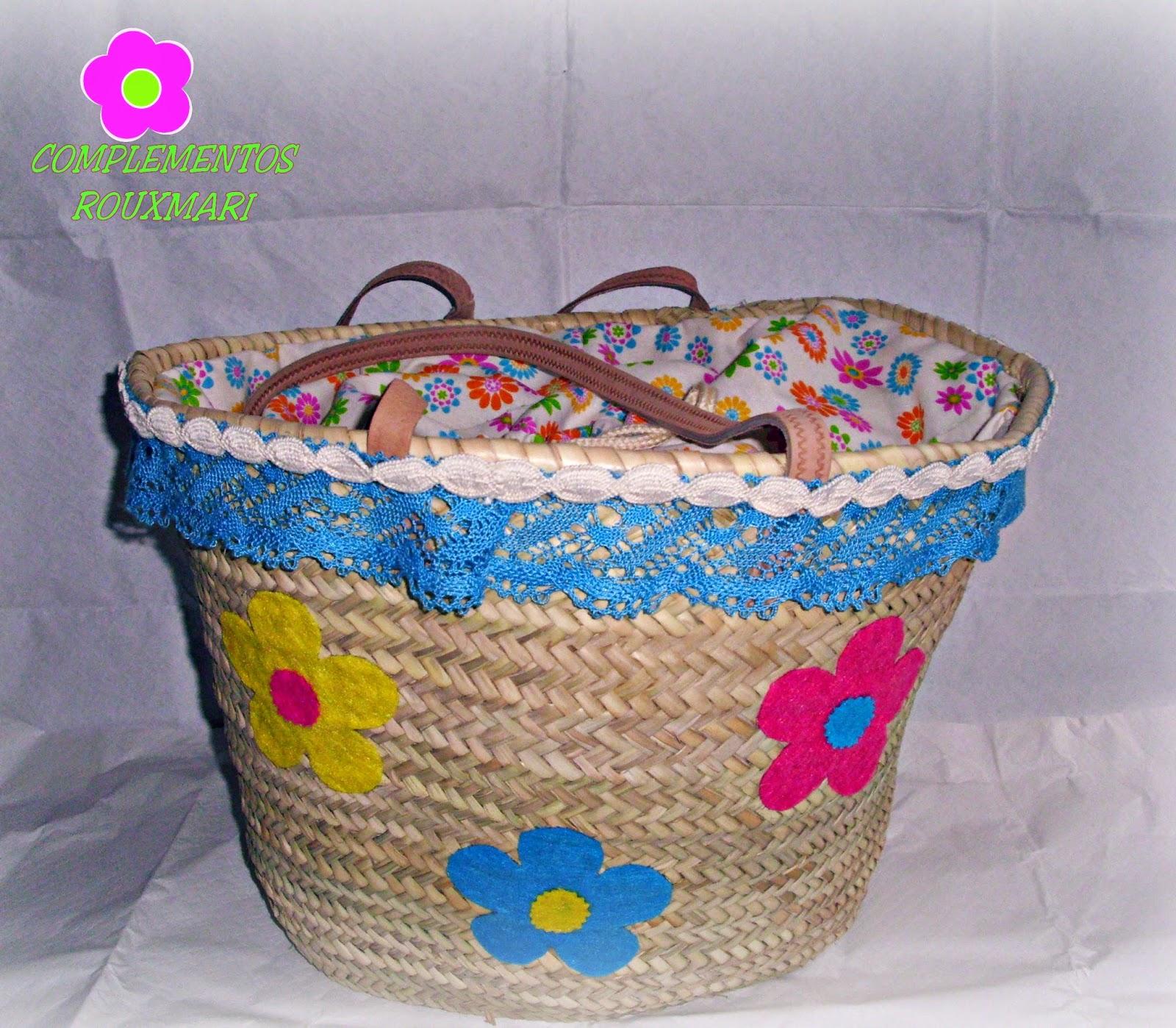 Complementos rouxmari cestas de playa - Cestas de playa personalizadas ...