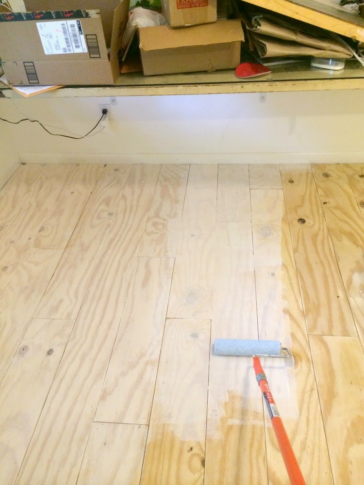 Although Both Tutorials And My Floor Were All White Washed I Think This Would Also Look Fantastic In A More Traditional Wood Stain As Well