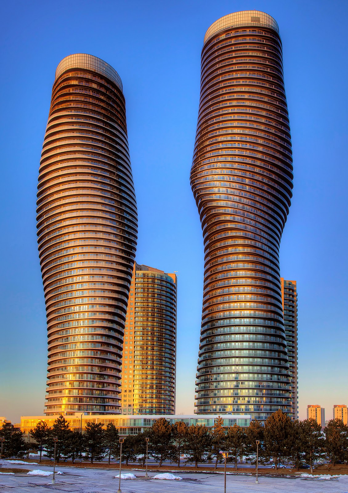 Ma Yansong, Absolute World towers 4 & 5 aka Marilyn Monroe Towers.