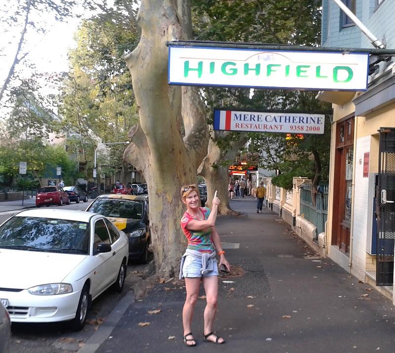 Highfield hotel, Victoria street, Pott's Point title=