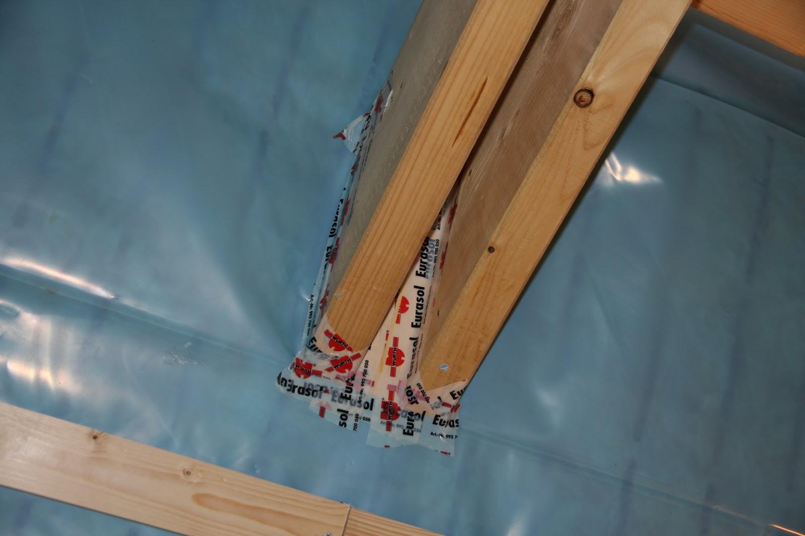 unser hausbau mit fibav: dämmung dach