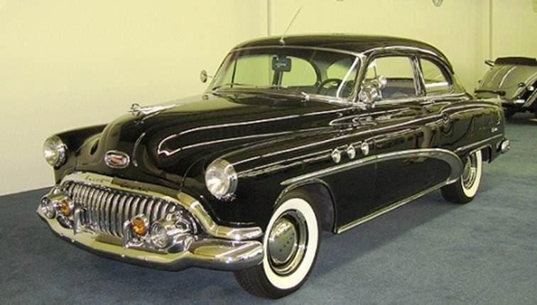 Historia gr fica de la buick en la d cada de 1950 old partners for 1952 buick special 2 door