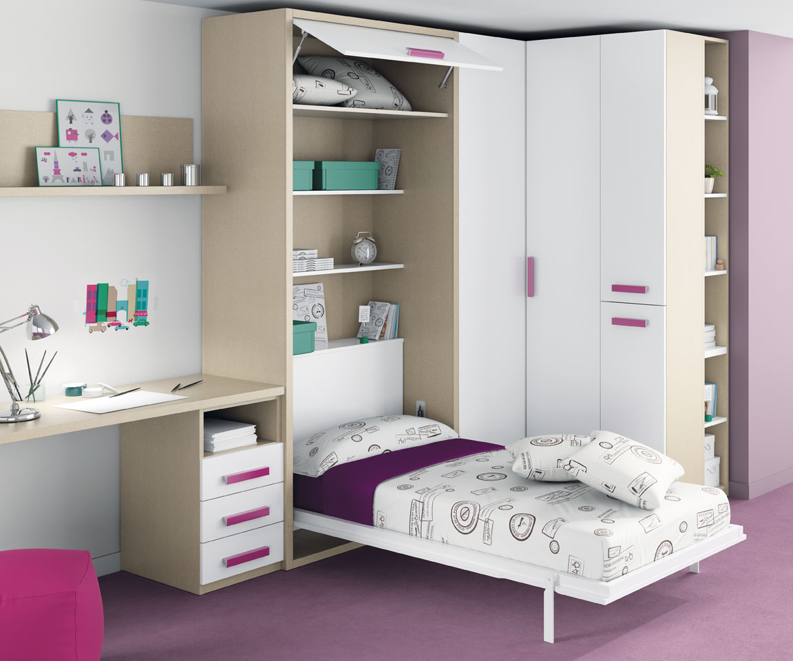 mobilier enfant et junior pourquoi un lit escamotable. Black Bedroom Furniture Sets. Home Design Ideas