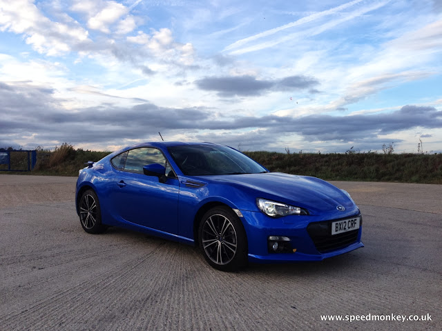 Subaru BRZ in Blue Mica