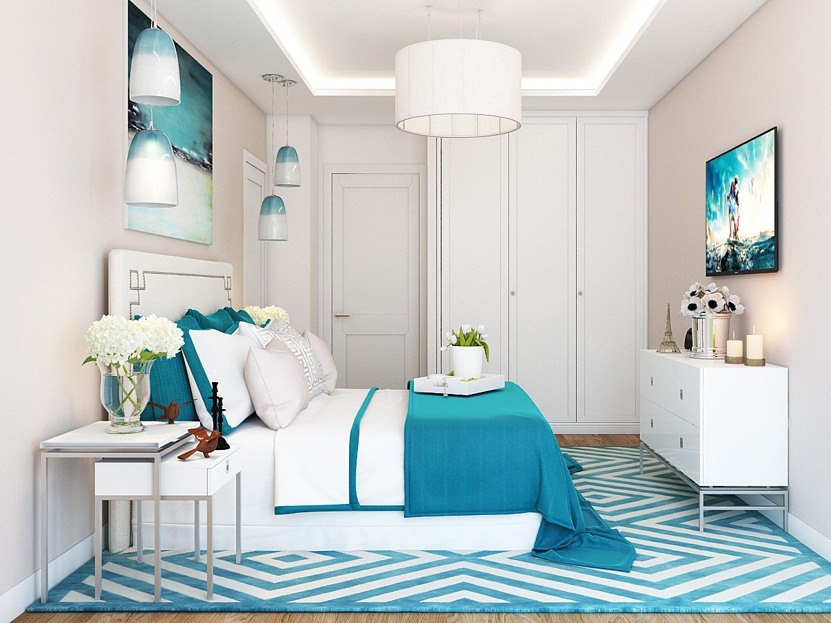 Home Decor Unique Turquoise Bedroom Furniture Designs