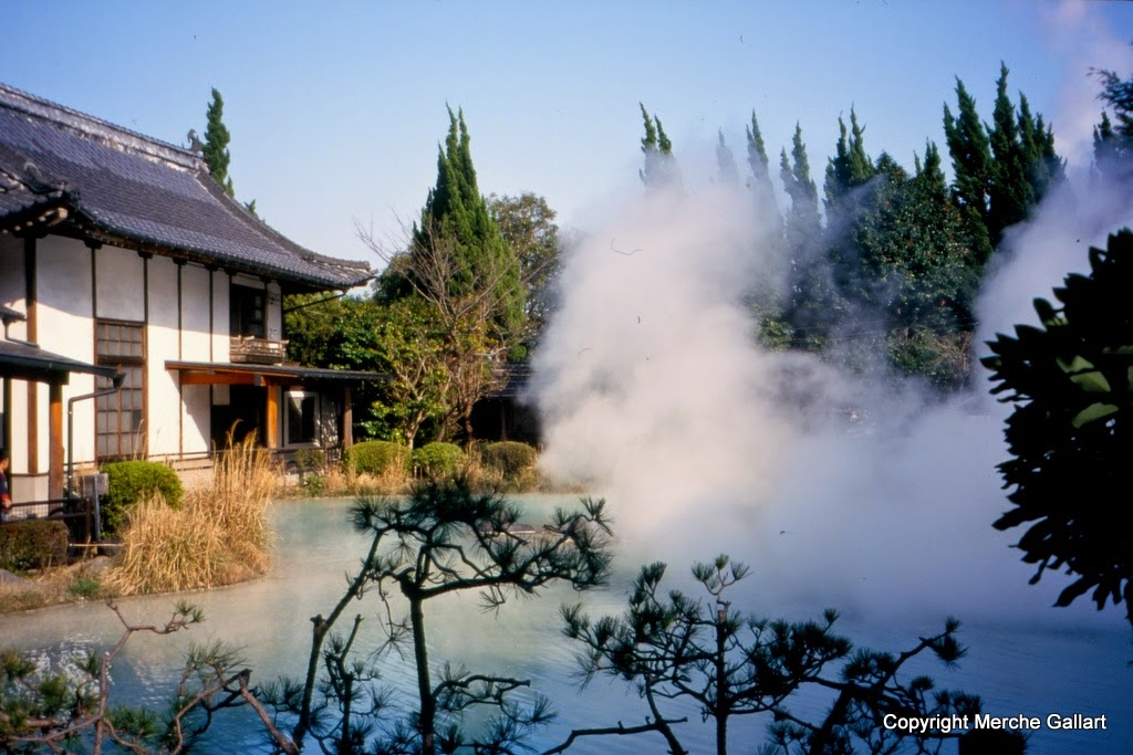 Baños Termales Japon:El primero era excepcional Había una gran laguna como si fuera una