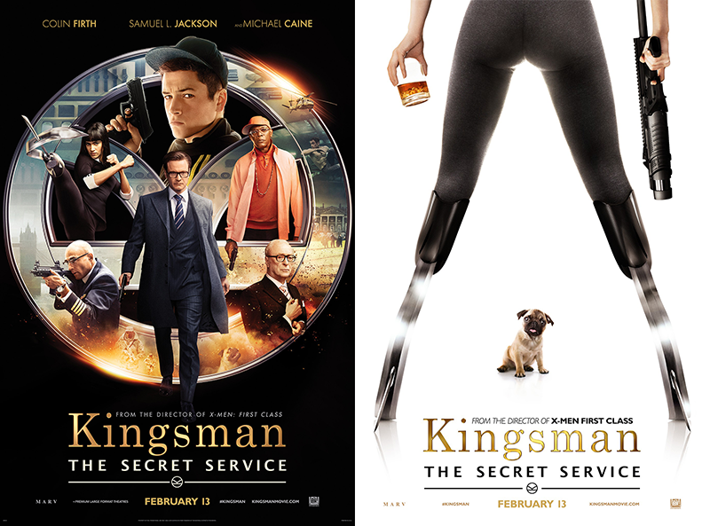 Kingsman The Secret Service film poster Colin Firth It's a bulldog, ain't it