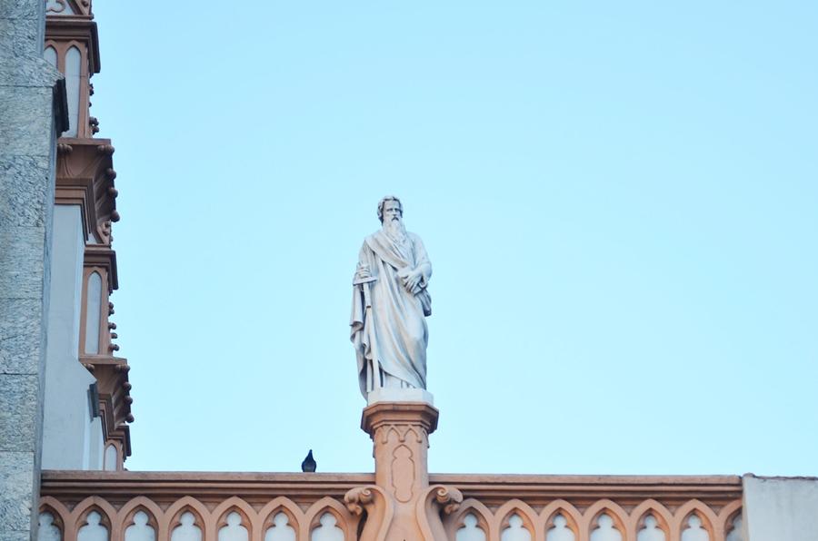 O Santo e o Pombo