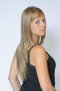 Tendências moda de cabelos longos 2012