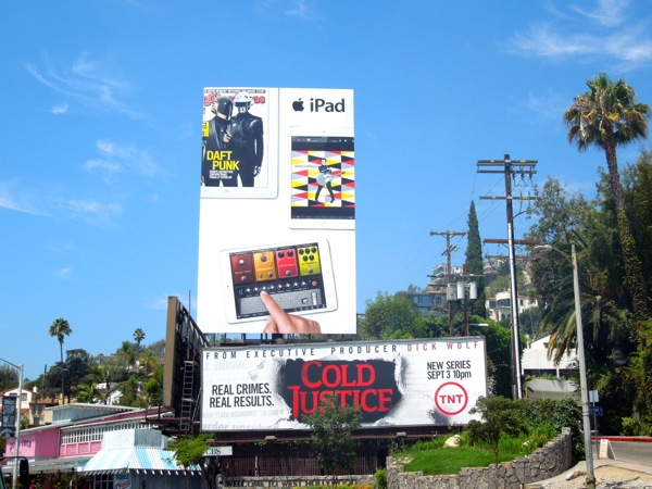 iPad Daft Punk billboard
