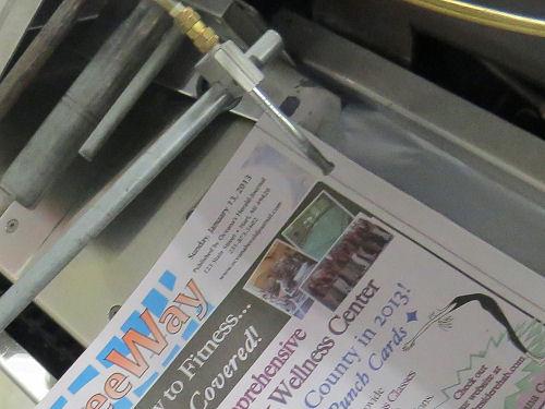 newspaper stuffer
