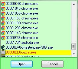 KLik Process List Lalu pilih Icon PSXfin - Jona Rendra