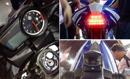 Speedometer & Buritan Belakang YZF-R15