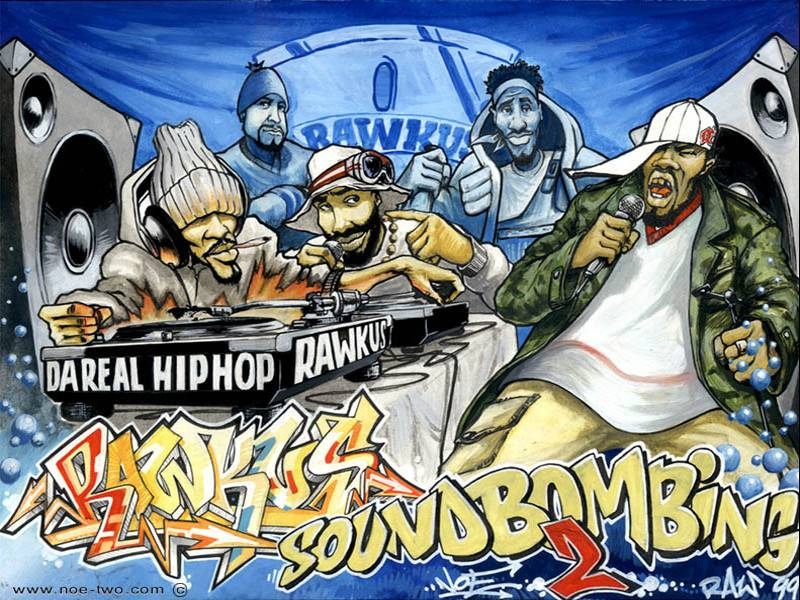 Street Art Kollection: HIP HOP MOMO, DA REAL!