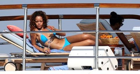 Rihanna in a St.Lucia Bikini Top
