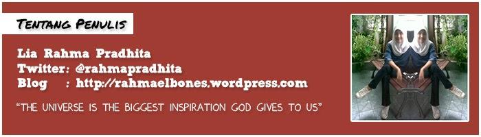 Author - Lia Rahma Pradhita