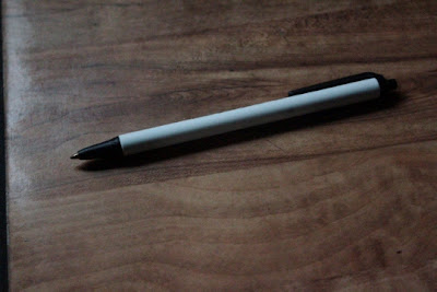 bic click stick pen black