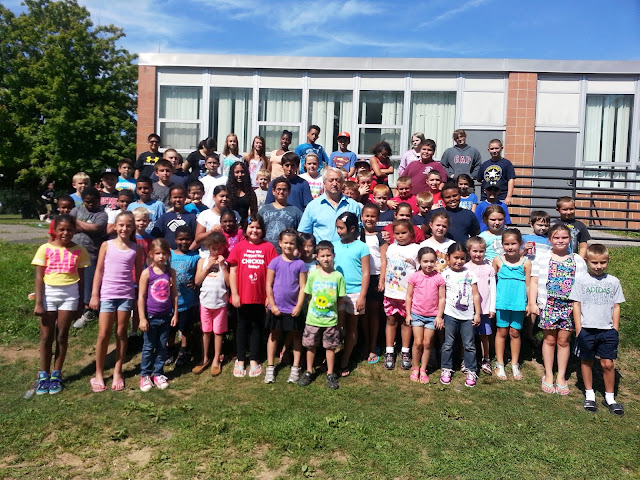... Valley: Derby kids say goodbye to playground camp at Bradley School