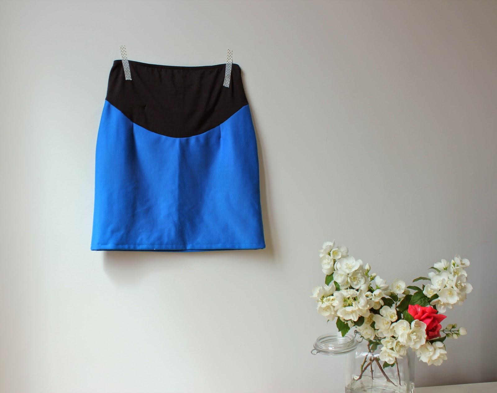 le petit monde de j jupe de grossesse le patron de la ceinture en jersey. Black Bedroom Furniture Sets. Home Design Ideas