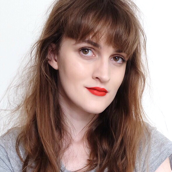 NARS Red Square Lip Pencil on lips, nars red square lip pencil review