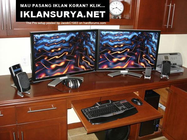 Ruang Kerja IT Pro Desktop Home Office