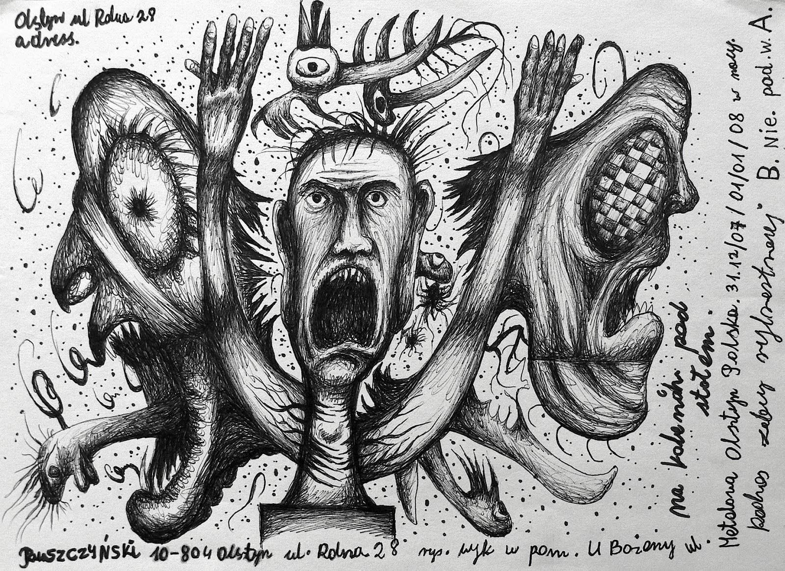 Jerzy Ruszczynski 5- gricha rosov outsider art magazine
