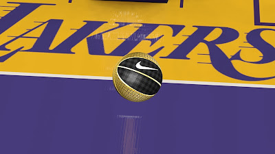 NBA 2K13 Nike Basketball Gold & Black Elite Mod
