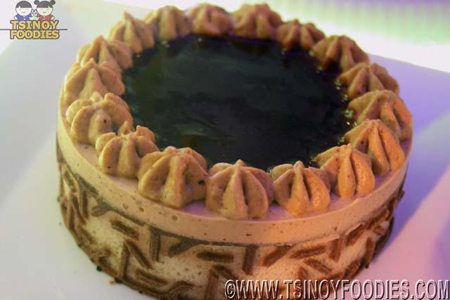 nutella mousse cake