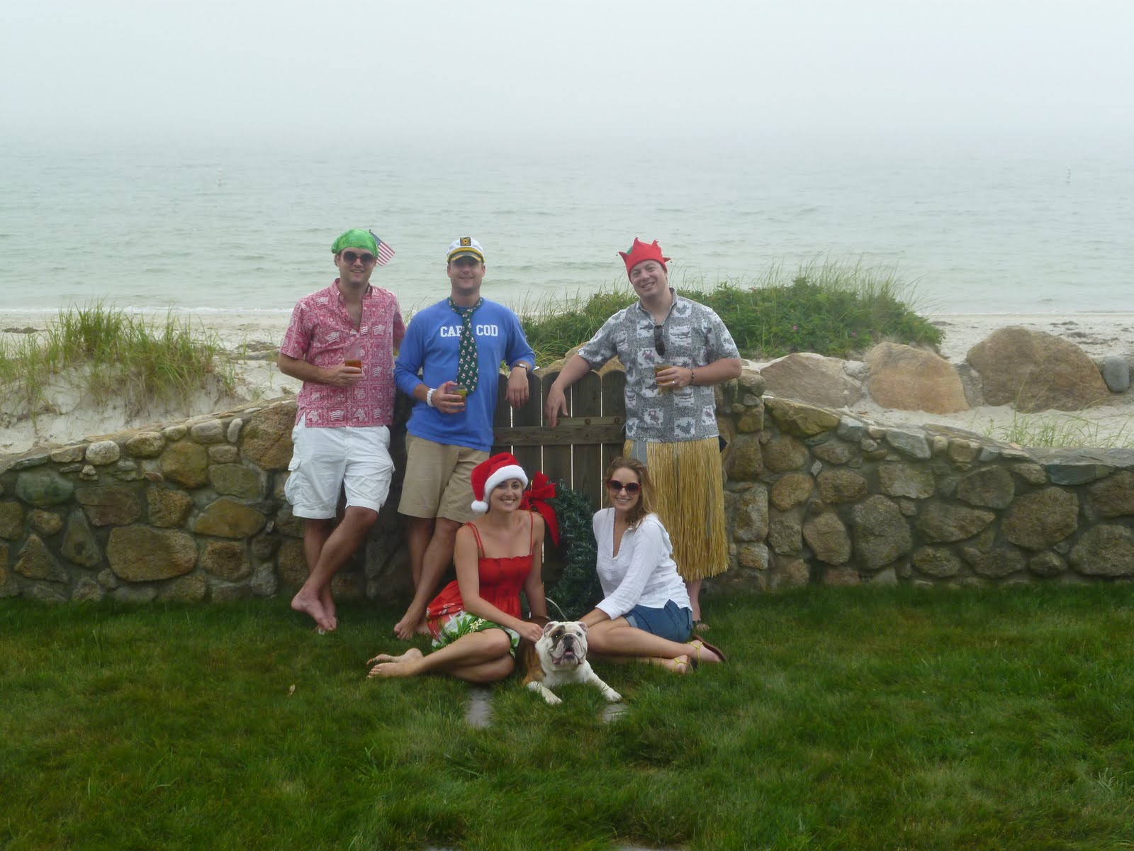 married to the mobs cape christmas 2011 christmas in july why