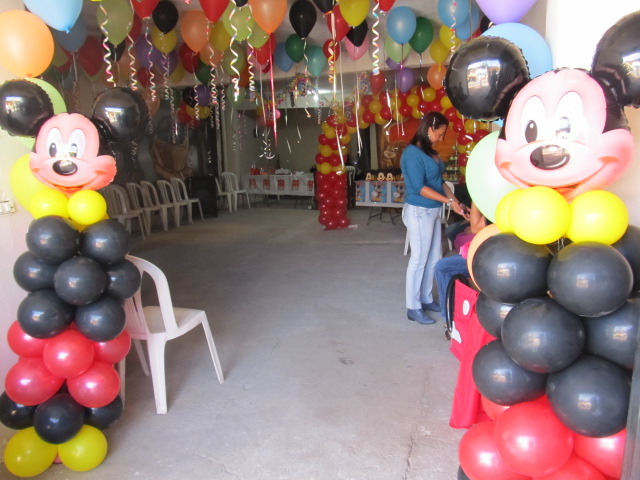 DECORACION FIESTA MICKEY MOUSE | Decoracion fiestas infantiles ...