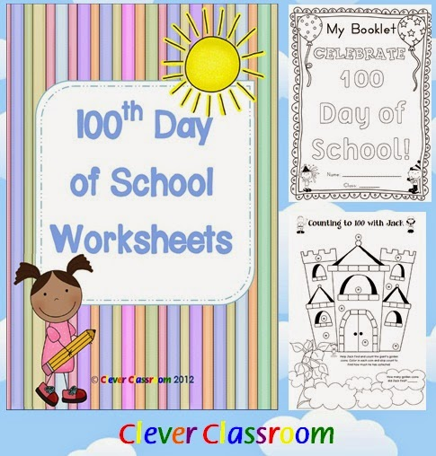 100th Day of School Worksheets - 100 Days of School PDF file  100th day of school worksheet fun!