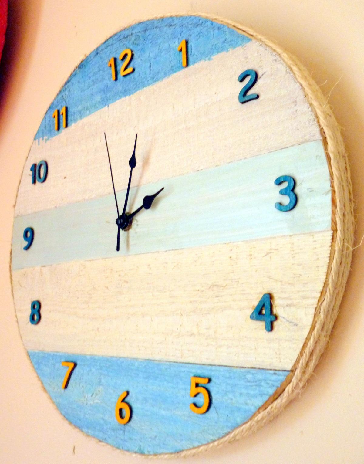 Le mie idee creative orologio da parete for Idee per orologio da parete