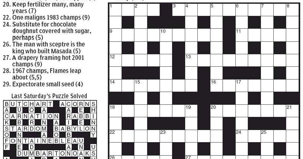 By Far Crossword Clue  Letters