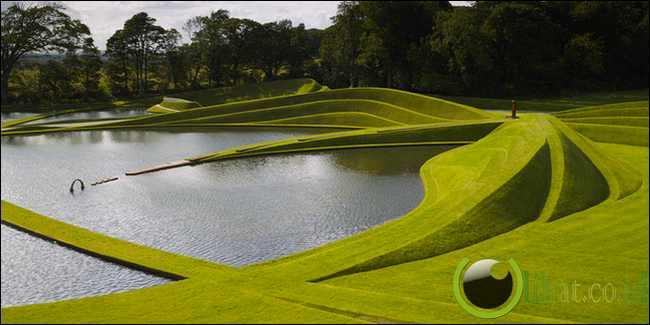 The Garden of Cosmic Speculation, Skotlandia
