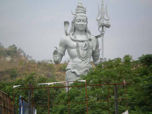 lord Bholey statue the world's largest pictures in Haridwar