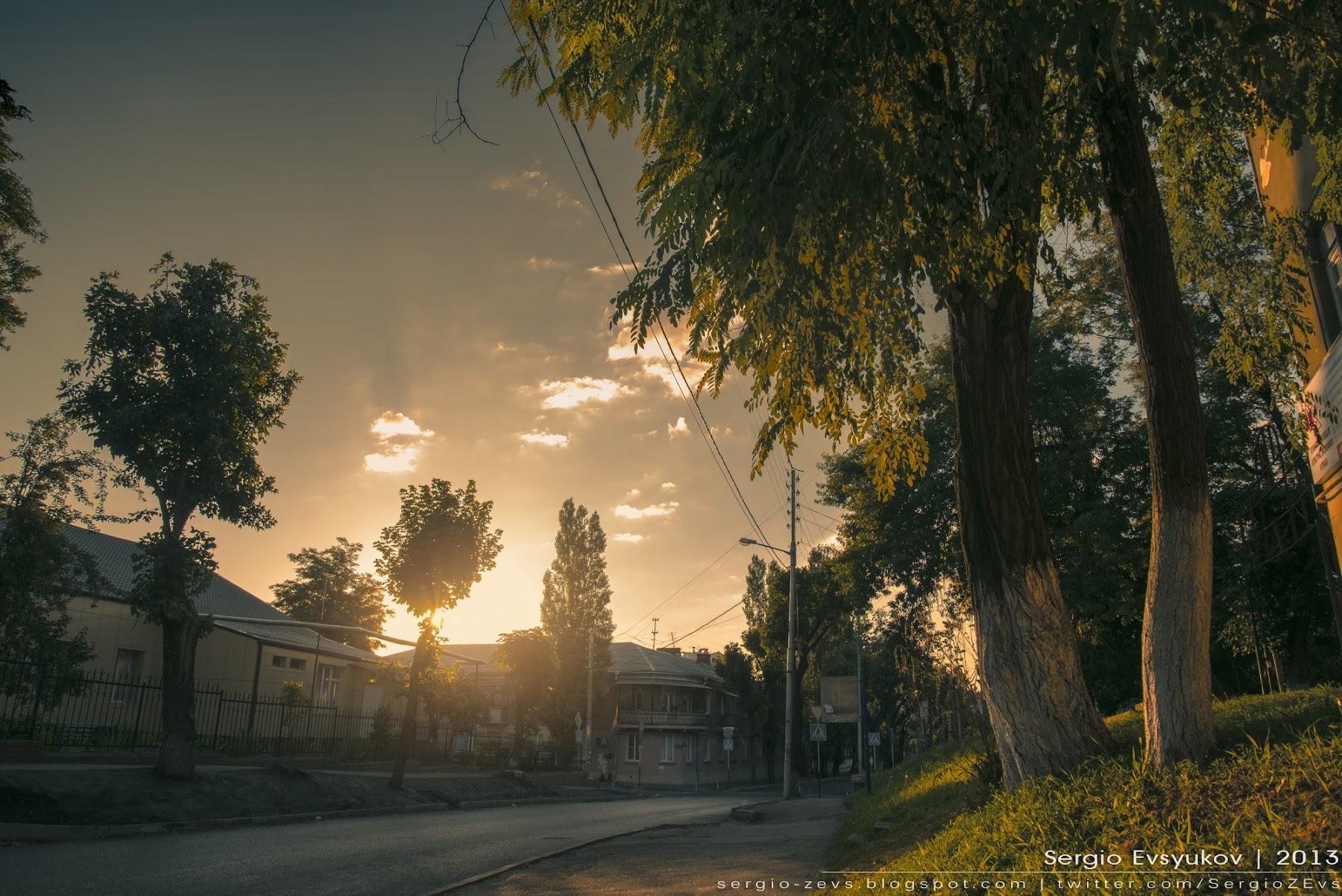 morning town