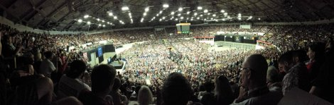 Bernie Sanders in Madison, Wisconsin