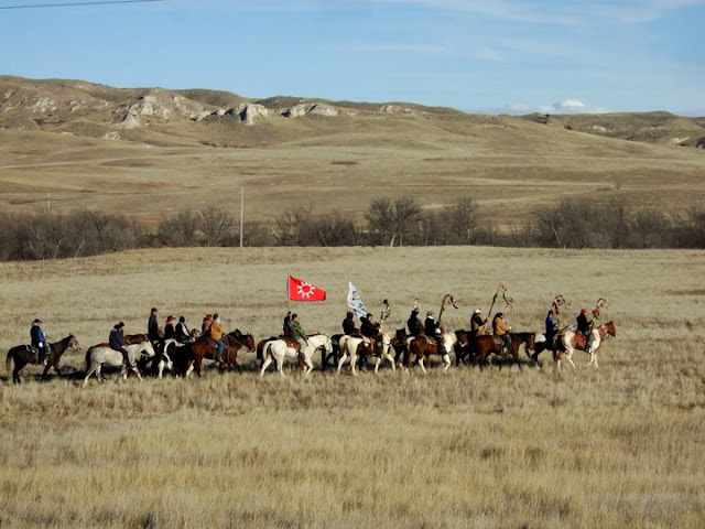 Omaka Tokatakiya 'Future Generation Ride': Young Lakota riders complete another year of prayer